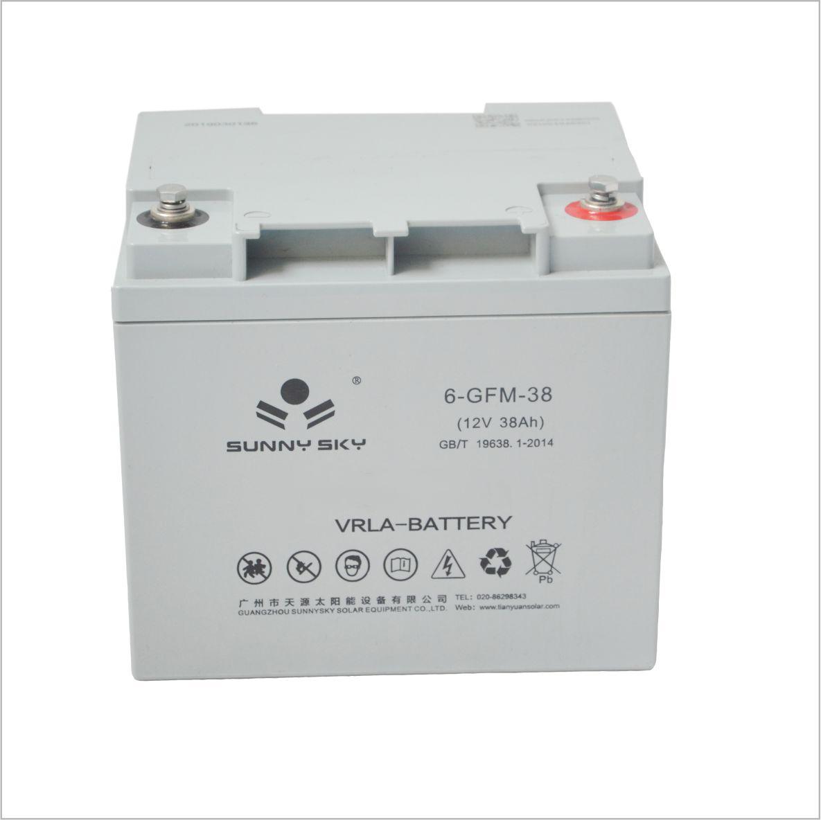 12 volt storage battery for solar panel